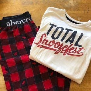 Boys Abercrombie Kids pajamas- never worn!